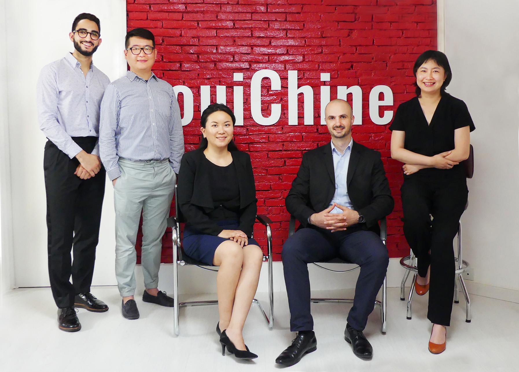 Une équipe pour vous former sur la Chine